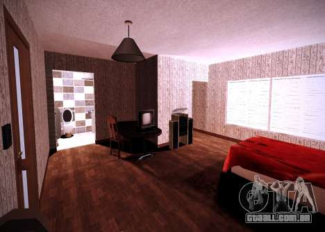 O interior do apartamento para GTA San Andreas