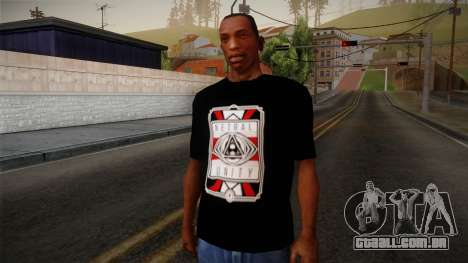 Netral T-Shirt para GTA San Andreas