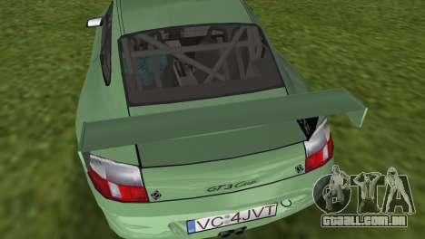 Porsche GT3 Cup 996 para GTA Vice City vista direita