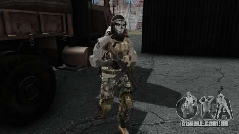 Army Ghost v1 para GTA San Andreas