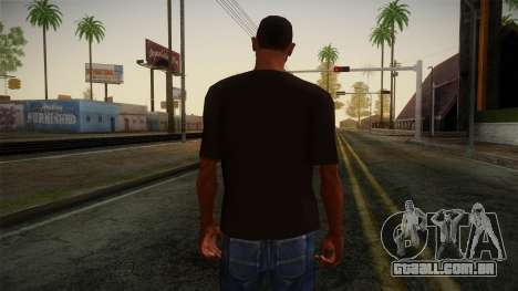 DC Shoes USA T-Shirt para GTA San Andreas segunda tela