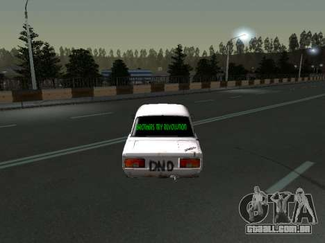 VAZ 2107 Vagabundo para GTA San Andreas vista direita