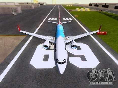 Boeing 737-800 Qantas para o motor de GTA San Andreas
