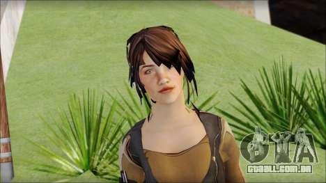 Rebecca para GTA San Andreas terceira tela