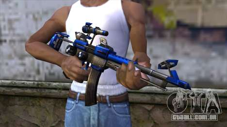 CartBlue from CSO NST para GTA San Andreas terceira tela