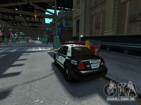 Ford Crown Victoria Police NYPD 2014 para GTA 4 esquerda vista