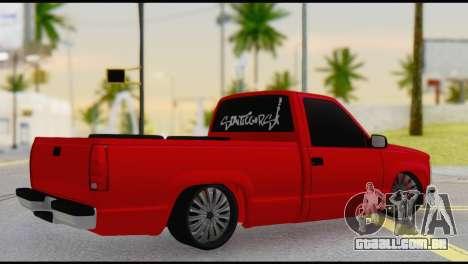 Chevrolet CK 1500 para GTA San Andreas esquerda vista