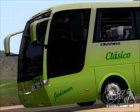 Busscar Vissta LO Scania K310 - Tur Bus para GTA San Andreas vista superior