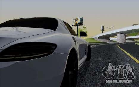 ENBSeries para PC fraco v3 [SA:MP] para GTA San Andreas por diante tela