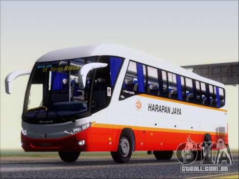 Marcopolo Paradiso 1200 Harapan Jaya para as rodas de GTA San Andreas