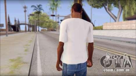 WWE Logo T-Shirt mod v1 para GTA San Andreas segunda tela