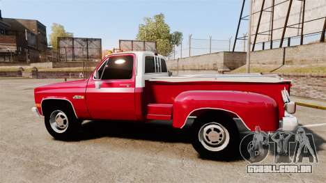 GMC 454 Pick-Up Up para GTA 4 esquerda vista