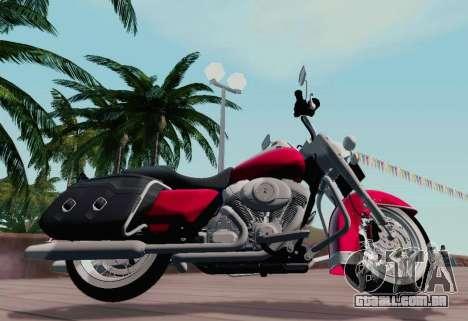 Harley-Davidson Road King Classic 2011 para GTA San Andreas esquerda vista