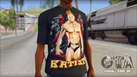 Batista Shirt v1 para GTA San Andreas terceira tela