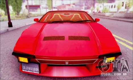 De Tomaso Pantera para GTA San Andreas vista direita