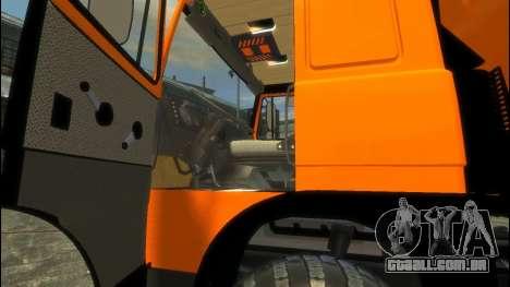 MAZ-6317 para GTA 4 vista de volta