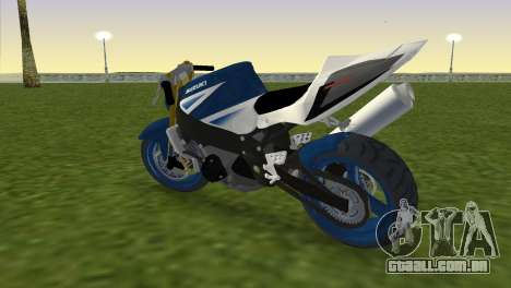 Suzuki GSX-R 1000 StreetFighter para GTA Vice City deixou vista