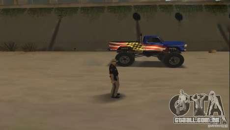 Carro de controle remoto para GTA San Andreas terceira tela