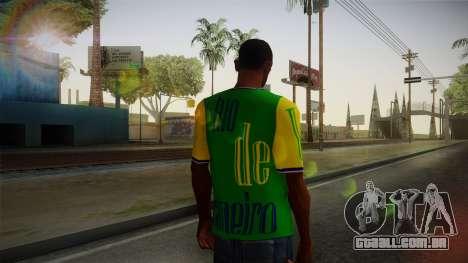 RIO T-Shirt para GTA San Andreas segunda tela