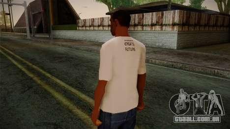 Dreambirds T-Shirt para GTA San Andreas segunda tela