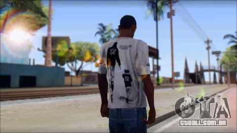 Terror T-Shirt Hardcore para GTA San Andreas segunda tela