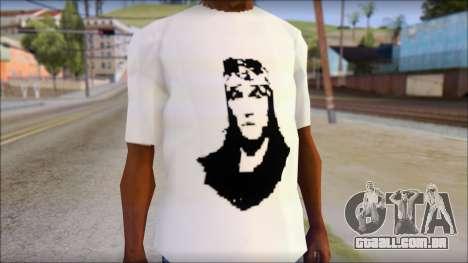 Axl Rose T-Shirt Mod para GTA San Andreas terceira tela
