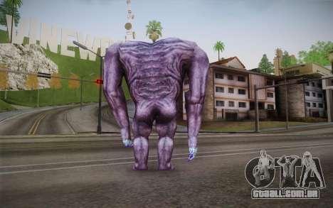 Gnaar from Serious Sam para GTA San Andreas segunda tela