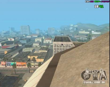Click Warp para GTA San Andreas terceira tela