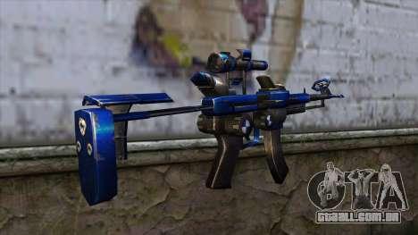 CartBlue from CSO NST para GTA San Andreas segunda tela