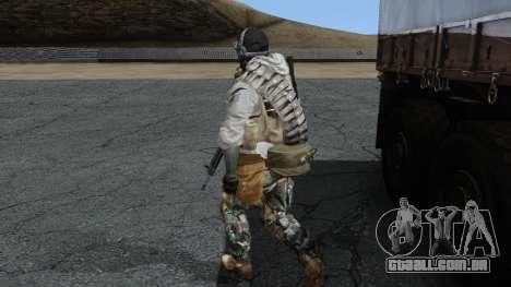Army Ghost v1 para GTA San Andreas segunda tela
