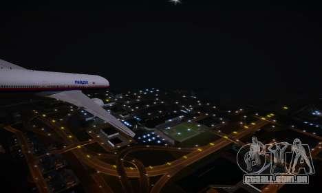 ENBSeries for low PC v2 fix para GTA San Andreas por diante tela