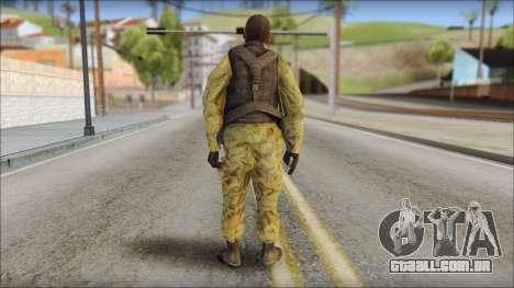 Afganistan Forces para GTA San Andreas segunda tela