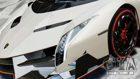 Lamborghini Veneno 2013 para GTA 4 vista direita