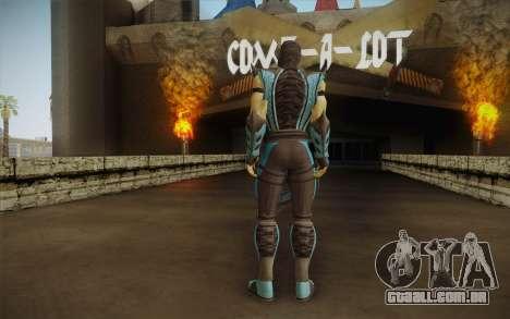 Sub Zero Skin para GTA San Andreas segunda tela