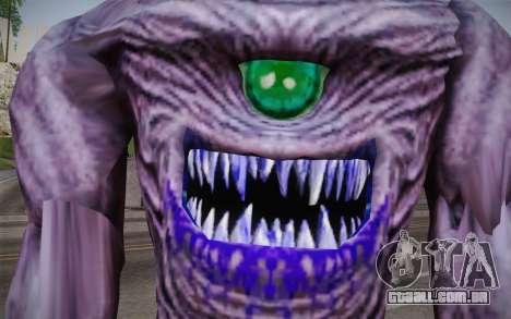 Gnaar from Serious Sam para GTA San Andreas terceira tela