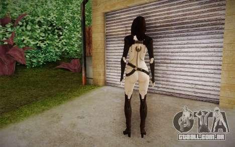 Miranda from Mass Effect 2 para GTA San Andreas segunda tela