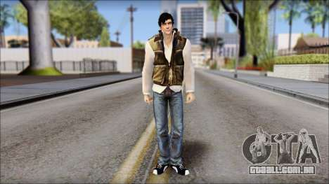 Alex from Prototype Alpha Texture para GTA San Andreas