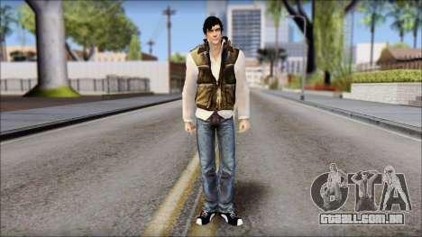 Alex from Prototype Alpha Texture para GTA San Andreas