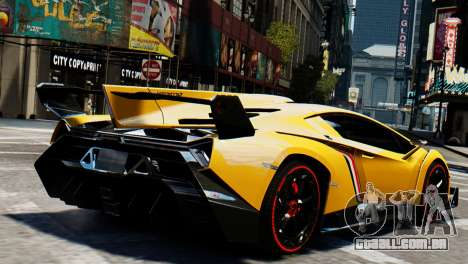 Lamborghini Veneno 2013 para GTA 4 esquerda vista