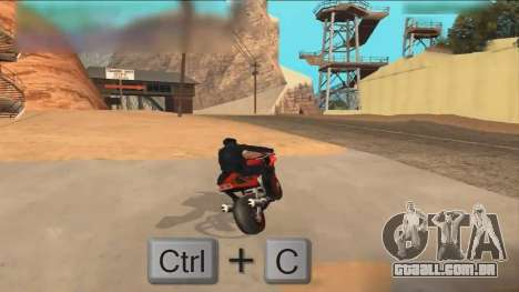 Car Hack para GTA San Andreas segunda tela