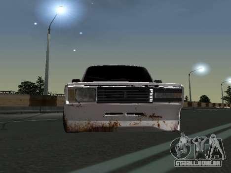 VAZ 2107 Vagabundo para GTA San Andreas esquerda vista