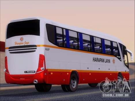 Marcopolo Paradiso 1200 Harapan Jaya para GTA San Andreas vista direita