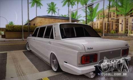 Peykan 1600i Limo para GTA San Andreas esquerda vista