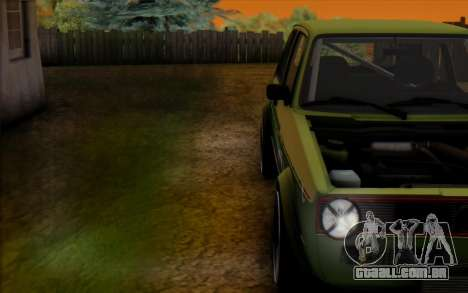 Volkswagen Golf Mk I para GTA San Andreas vista direita