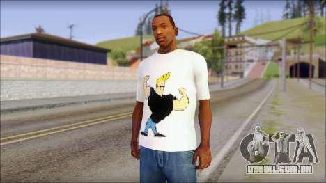 Johnny Bravo T-Shirt v1 para GTA San Andreas