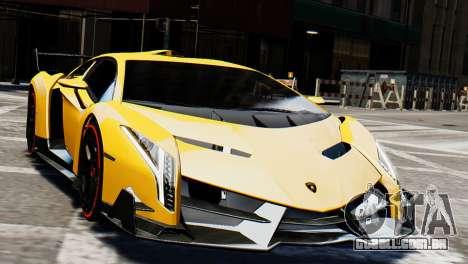 Lamborghini Veneno 2013 para GTA 4