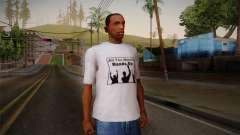 All You Need Is Hands Up T-Shirt para GTA San Andreas