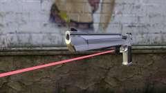 Desert Eagle com mira a laser
