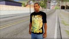 Trivium T-Shirt Mod para GTA San Andreas