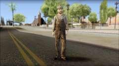 Male Civilian Worker
